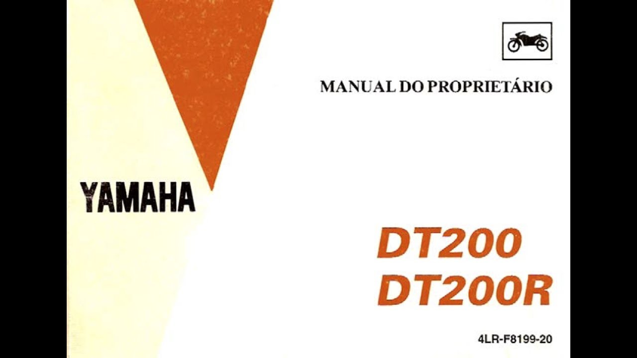 manual do proprietário yamaha dt200 dt200r completo yamaha 1996 g26 yamaha dt200r wiring diagram #13
