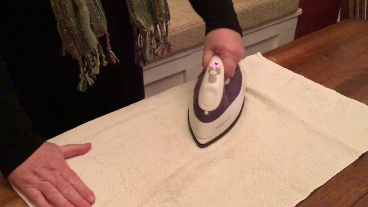 Charmant Remove Water Stain From Wood Table With An Iron