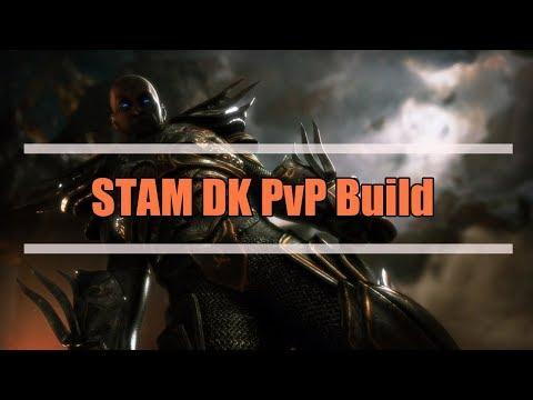 Stamina Dragonknight 1vX PvP Build - Elder Scrolls Online: HOTR