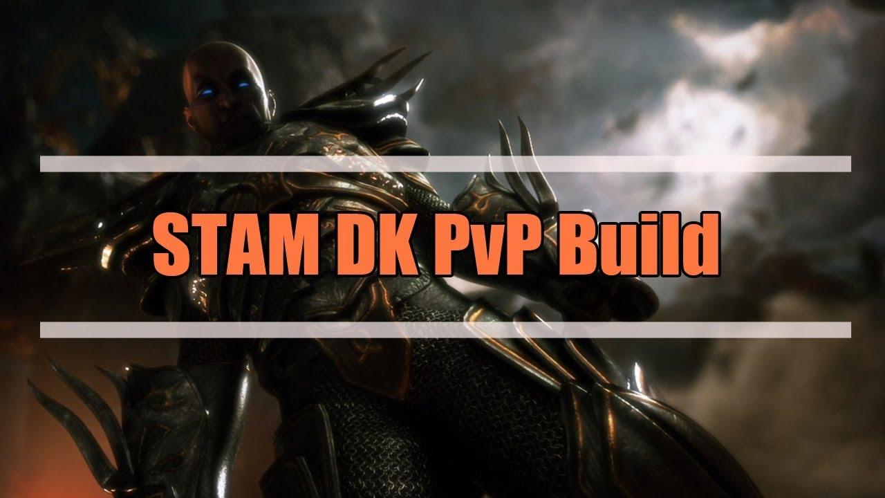 Stamina Dragonknight 1vX PvP Build - Elder Scrolls Online