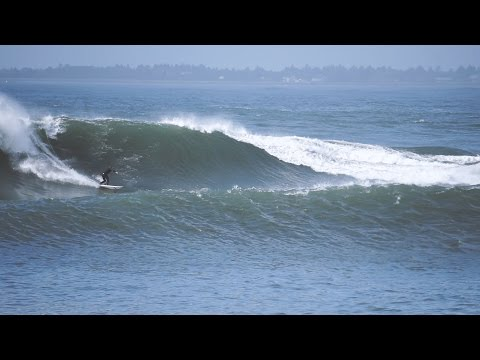Large October Swell at Westport