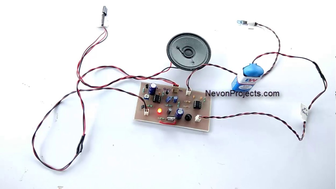 Electronic Watch Dog Project