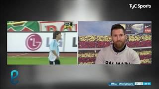 Leo Messi REACCIONA a la expulsión en su debut en la Selección Argentina ante Hungría