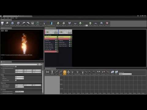 UE4 - Making Fire - Screen Space GPU Particles