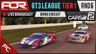 Project CARS 2 | AOR GT3 League | PC Tier 1 | S10 | R6: Brno