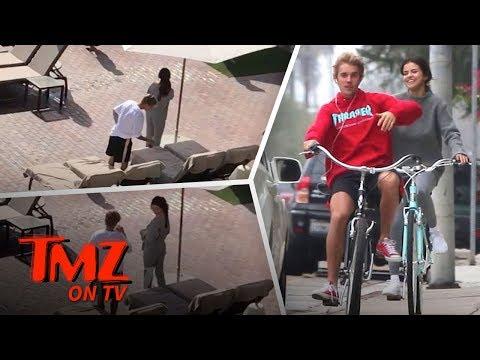 Selena and Justin Pre-Valentine Romance | TMZ TV
