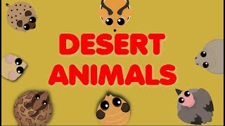 Mope.io // DESERT ANIMALS // Developper Desert Crazy Testing Event // Mope.io Beta