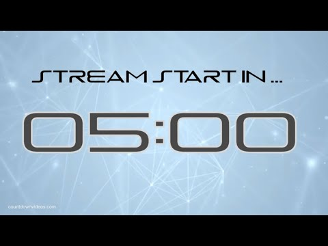 5 min. Stream Starting Soon With Playstation Font