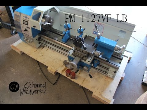 Tool Talk,  PM 1127 LB Precision Matthews 1127VF-LB metal lathe,  arrival, setup and whats included,