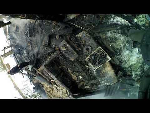 #ПОДСРА4НИК сгорел вместе с гаражом