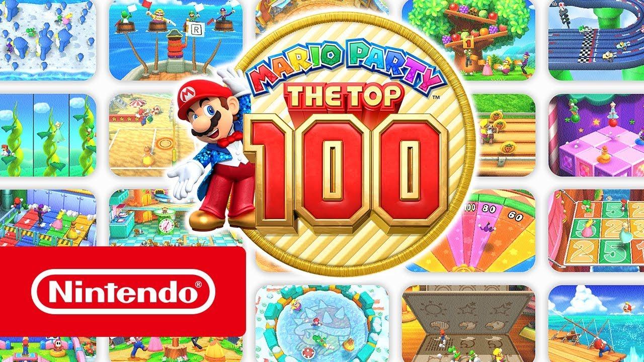 Mario Party The Top 100 Trailer Presentacion Nintendo 3ds Youtube
