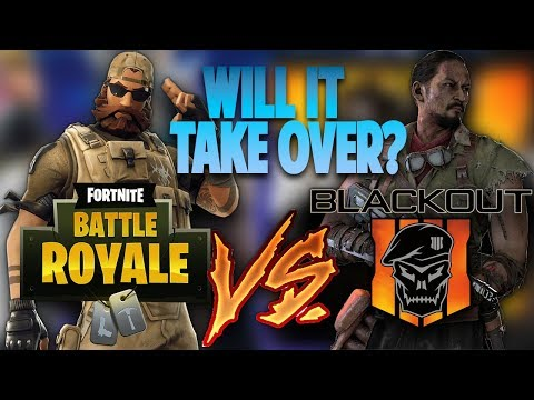 The Reason Why Call Of Duty Blackout Battle Royale Will Take Over Fortnite (BLACKOUT VS FORTNITE) thumbnail