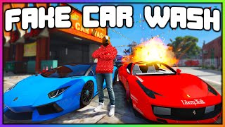 GTA 5 Roleplay - FAKE CAR WASH TROLLING | RedlineRP