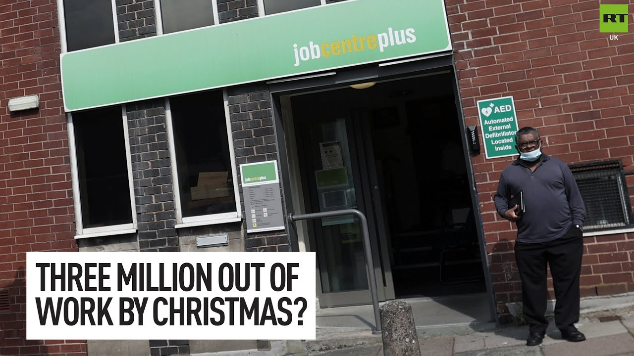 Three million people could be unemployed by Christmas!