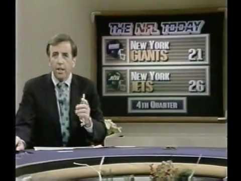 NFL 1988 Season - Week 16 Postgame - THE NFL TODAY
