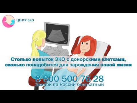 ЭКО с донорскими яйцеклетками: лучшее предложение в России!