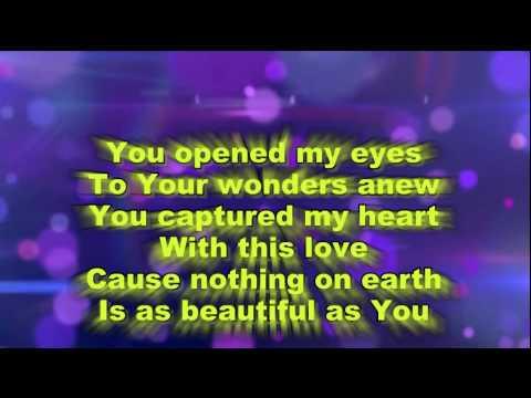 Beautiful One - Tim Hughes Backing Tracks with lyrics.