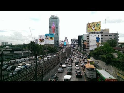 Makati &  The Major Shopping Malls in Manila, Philippines