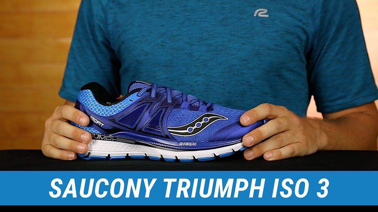 saucony triumph iso 3 | men's fit expert review - youtube