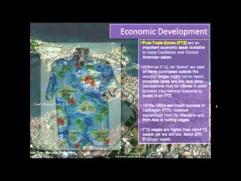 WorldGeo: The Caribbean: Economics Geography