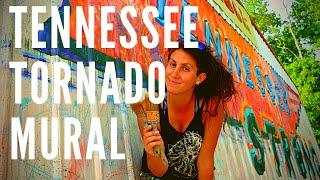 TORNADO MURAL!! TENNESSEE Tornado Mural Timelapse Video