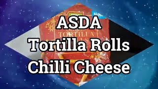ASDA Tortilla Rolls - Chilli Cheese Flavour 150g