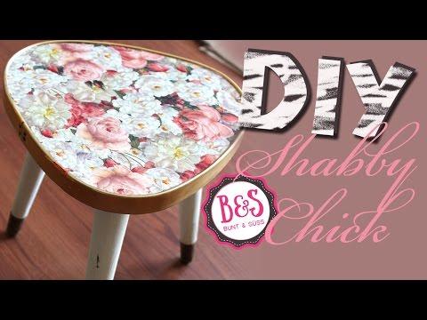 Decoupage  Anleitung:  DIY Decoupage Tutorial