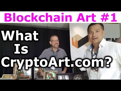 Blockchain Art #1 - What Is CryptoArt.com? - By Troy Fearnow