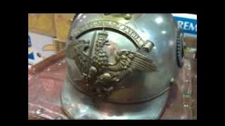 PICKELHAUBE GERMAN WW1 IMPERIAL Spiked Helmet Stahlhelm HELM D