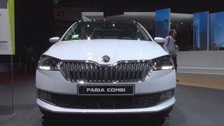 Škoda Fabia FL Combi Style 1.0 TSI 70 kW 5MQ (2018) Exterior and Interior