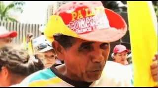 Barrio TV, en la Marcha del Movimiento de Campesino!
