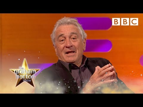 Robert De Niro: Trump thinks he's a gangster | The Graham Norton Show - BBC
