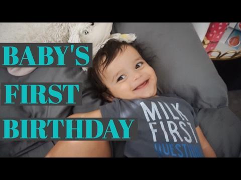 MATEO'S FIRST BIRTHDAY!
