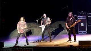 Queensryche performs at the Clearfield County Fair. Drummer Casey G...