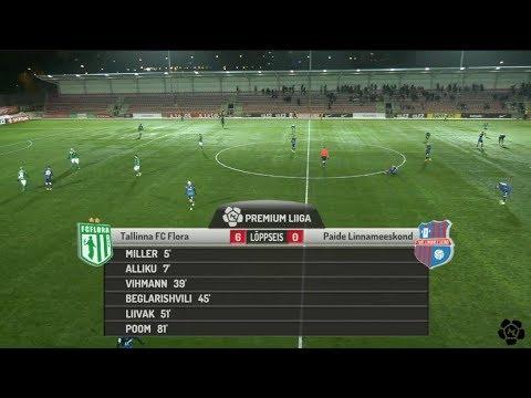 3. voor 2018: Tallinna FC Flora - Paide Linnameeskond 6:0 (4:0)