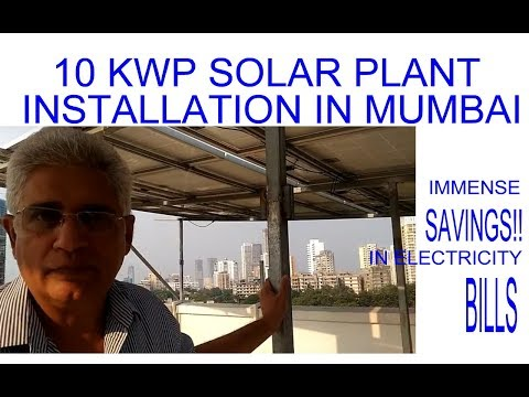 Solar System Power Panels Installation in Mumbai, India