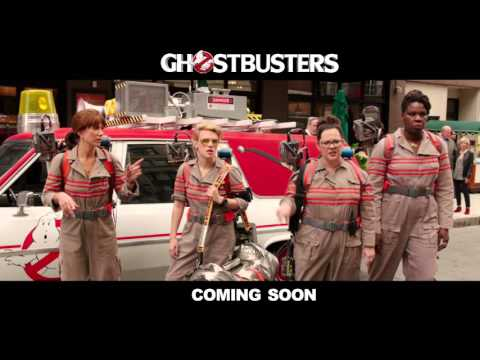 "New International Trailer Fires Up ""Ghostbusters"" Reboot"