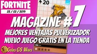 FORTNITE Magazine #7 | Martillo Pulverizador, Nuevo Juego Gratis en la Tienda...