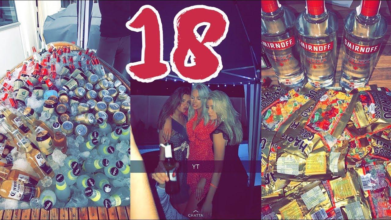 fest 18 år MIN 18 ÅRS FEST!!!! (obs alkohol kan förekomma xd)   YouTube fest 18 år