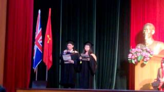 Speech at Graduation ceremony