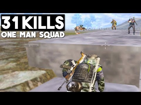 31 KILLS SOLO vs SQUAD | PUBG Mobile