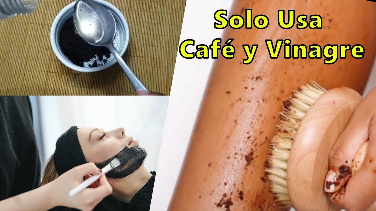 SALUD Y BELLEZA CON LA MEZCLA DE CAFÉ Y VINAGRE DE MANZANA ☑️ Salud es vivir ✔