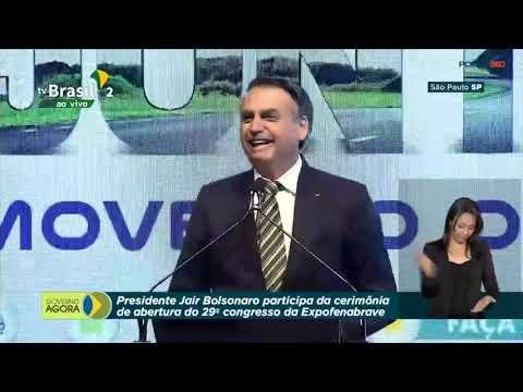 Bolsonaro ironiza imprensa ao anunciar MP que acaba com balanços de empresas em jornais impressos