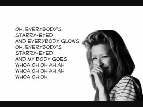 Ellie Goulding-Starry Eyed (Lyrics)
