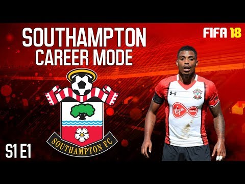 FIFA 18 Southampton Career Mode #1 The  Saints Need Some Fire Power!