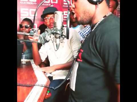 Semi live au radio 50 a kinshasa...