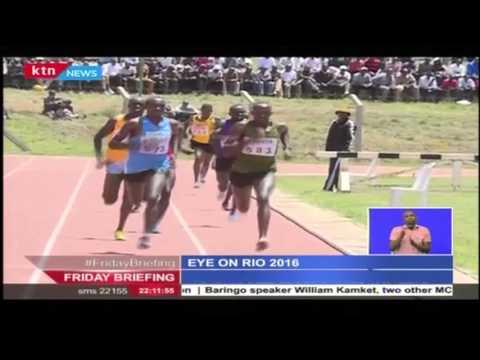 Athletes prepare for the 2016 Rio Olympics in Eldoret