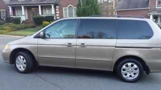 2004 Honda Odyssey Walk Around, test drive.  For S