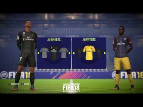 FIFA 18 - Demo Gameplay - Real Madrid vs Paris Saint-Germain in HD - Gamescom 2017