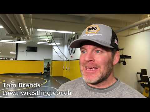 99e45c72316 Tom Brands on the Hawkeyes' upcoming dual against Maryland - YouTube